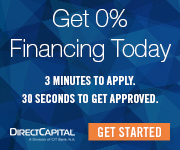 Direct Capital 0% financing today. Get Started.